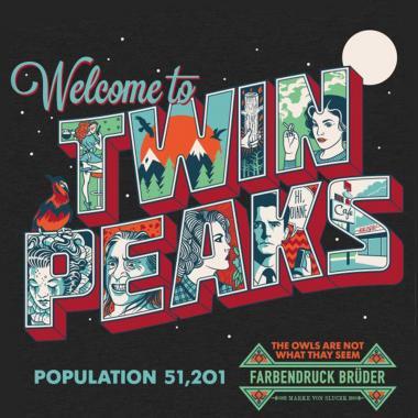 """Футболка """"Twin Peaks"""""""